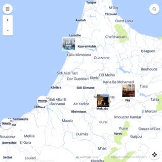 Discovery map - Our selection of must-see places in and around Rabat