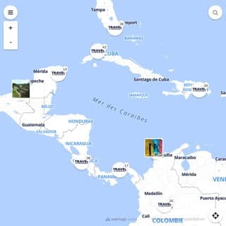 Discovery map - Our selection of must-see places in and around Panama city