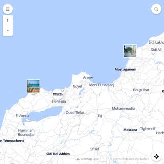 Discovery map - Our selection of must-see places in and around Oran