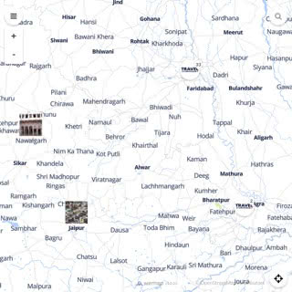 Discovery map - Our selection of must-see places in and around Delhi