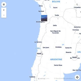 Discovery map - Our selection of must-see places in and around Santiago