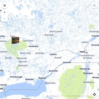 Discovery map - Our selection of must-see places in and around Montreal