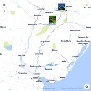 Discovery map - Our selection of must-see places in and around Buenos Aires