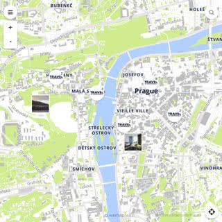 Discovery map - Our selection of must-see places in and around Prague