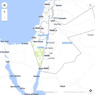 Discovery map - Our selection of must-see places in and around Amman