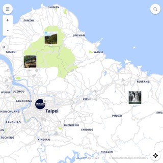 Discovery map - Our selection of must-see places in and around Taipei