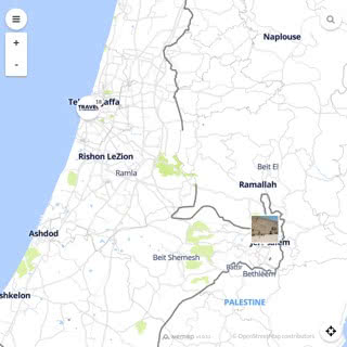 Discovery map - Our selection of must-see places in and around Tel Aviv