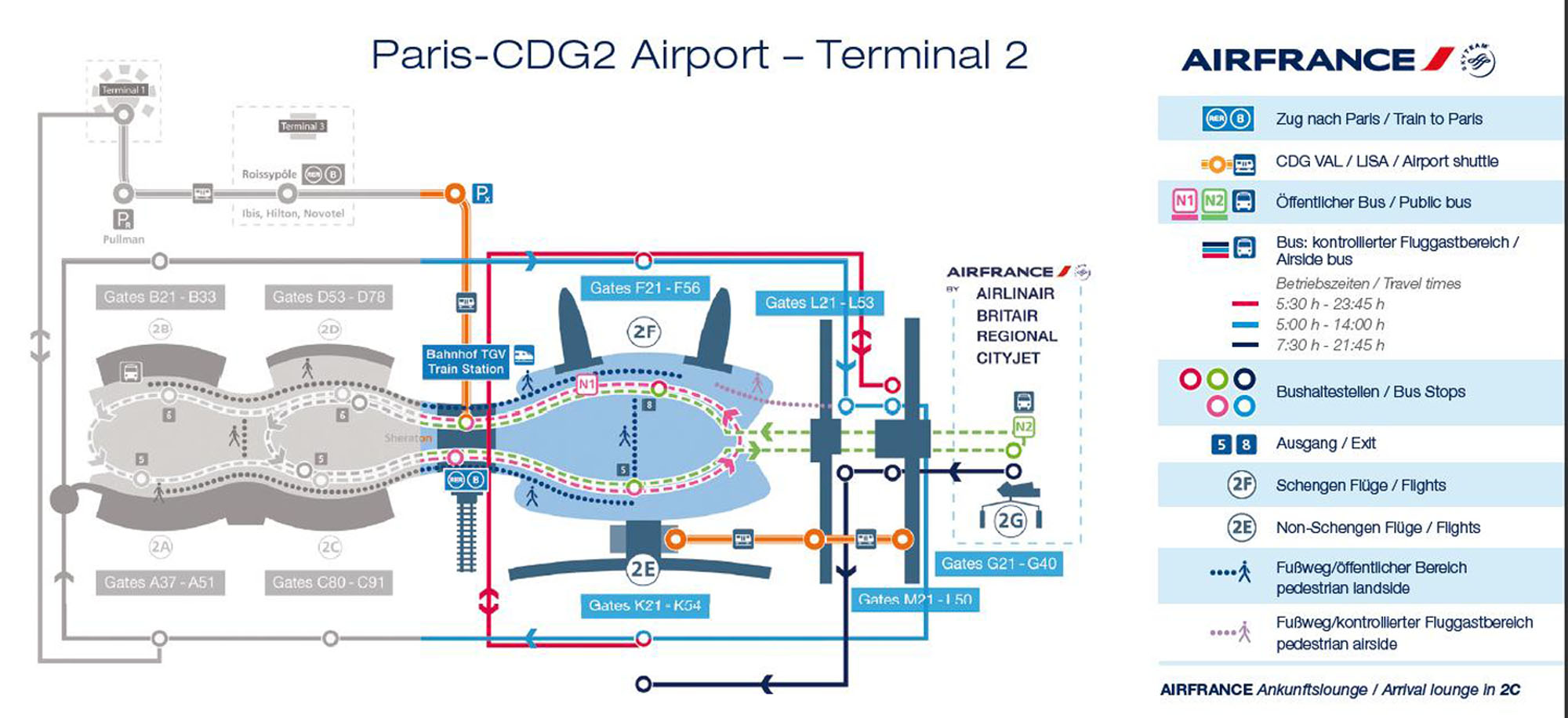 cdg paris map