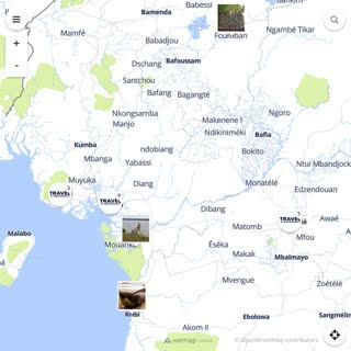 Discovery map - Our selection of must-see places in and around Douala