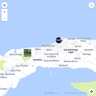 Discovery map - Our selection of must-see places in and around Havana