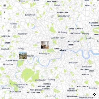 Discovery map - Our selection of must-see places in and around London