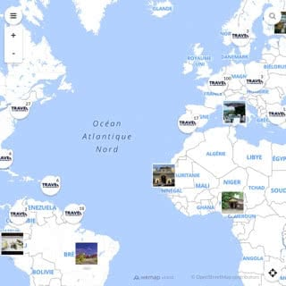 Discovery map - Our selection of must-see places in French Guiana