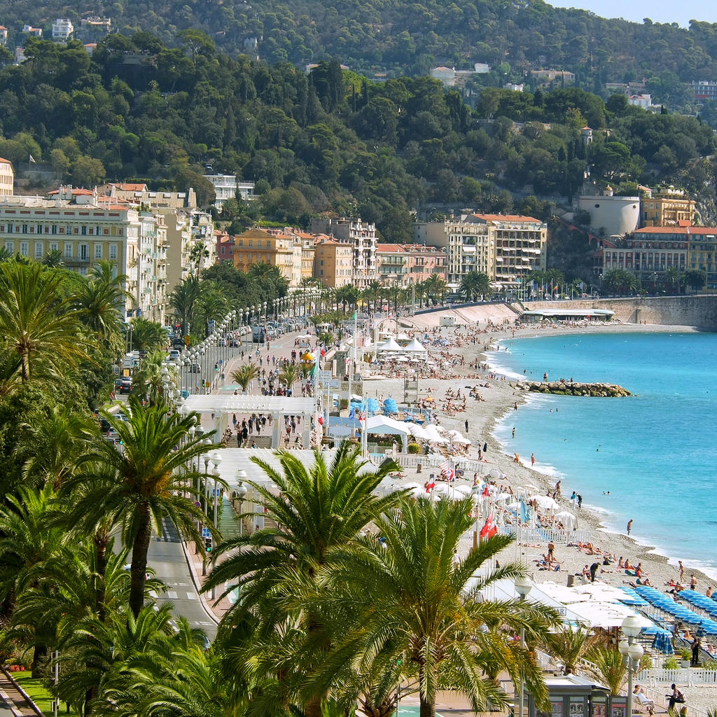 how to travel from nice to paris