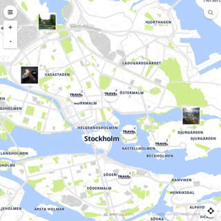 Discovery map - Our selection of must-see places in and around Stockholm
