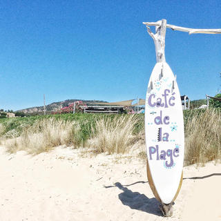 Café de la Plage: a beach restaurant like no other