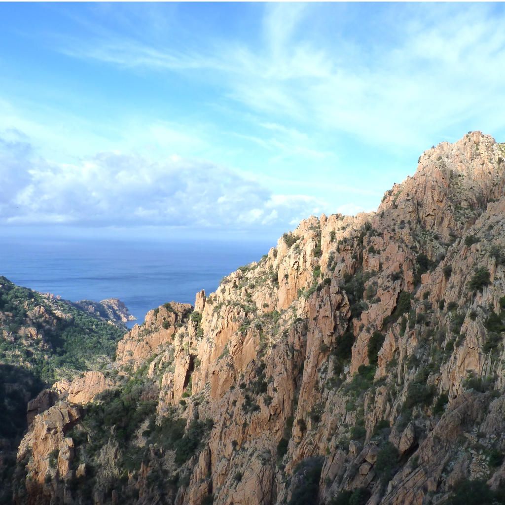 Marvel at the inlets of Piana
