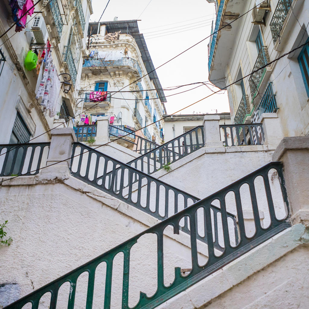 Algiers' Casbah: world heritage