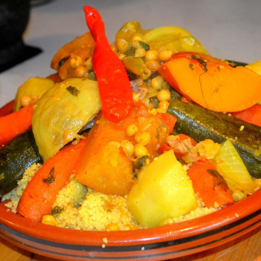 Couscous in Algiers