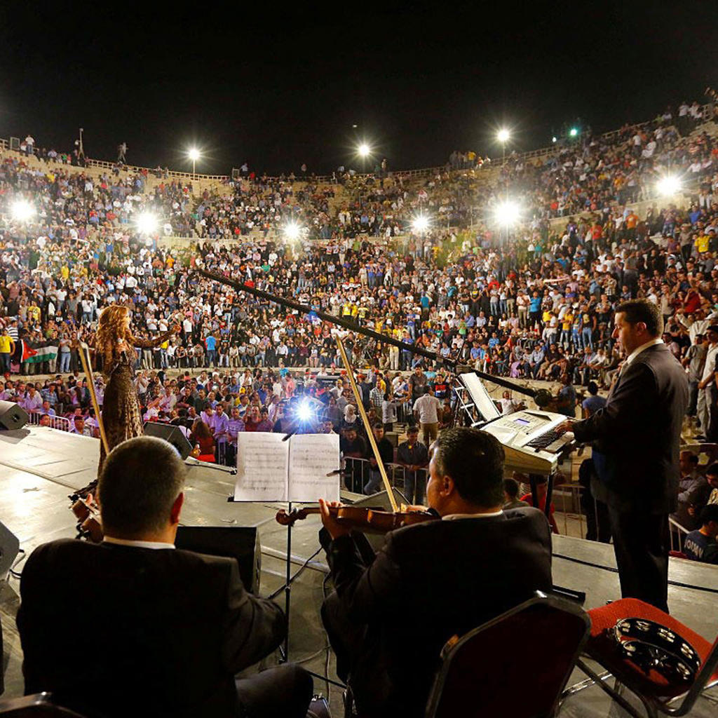 Jerash Festival for Culture and Arts