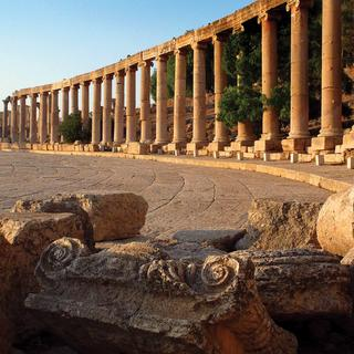 Jerash the beautiful