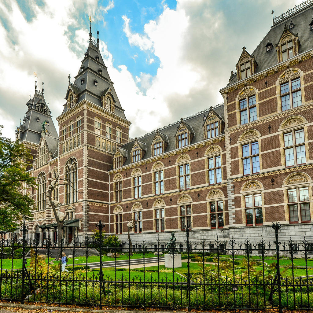 The beautiful, newly restored Rijksmuseum