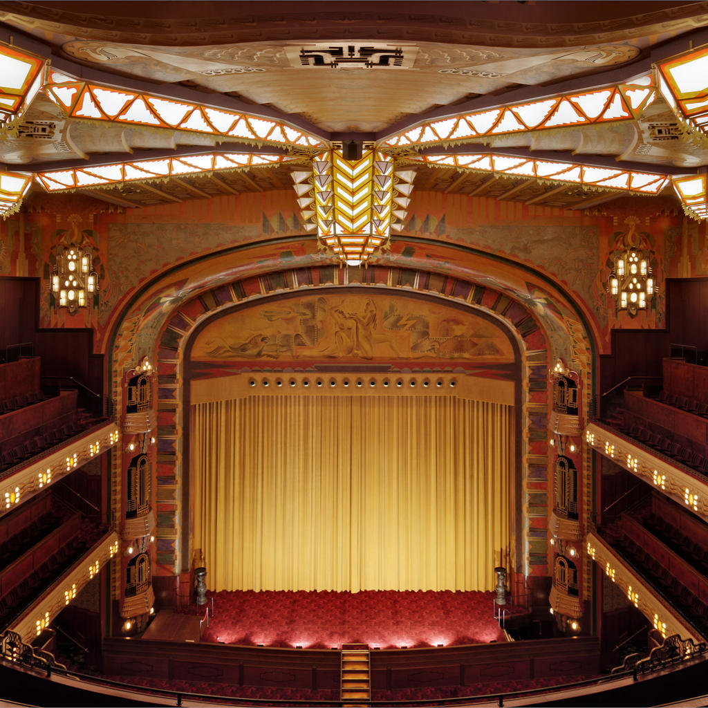 Catch a flick at the Tuschinski Theatre