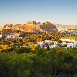 From the hilltops: Athens in a new light