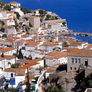 Hydra, island of cats and paintings