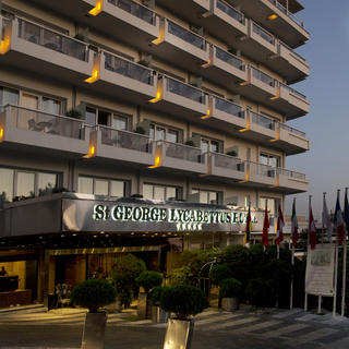 Saint George Lycabettus Hotel: a room with a view