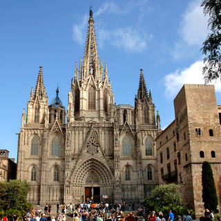 The iconic Barcelona Cathedral
