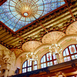 The melodious Palace of Catalan Music