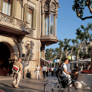 The sublime district of Eixample