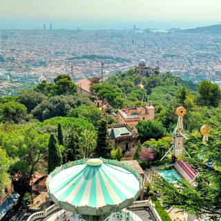 Family fun at Tibidabo
