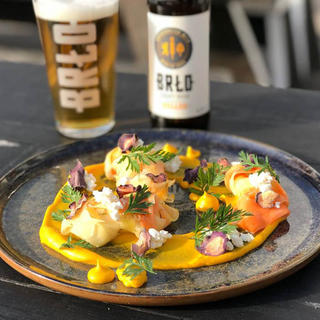 Food and beer pairing at BRLO Brwhouse
