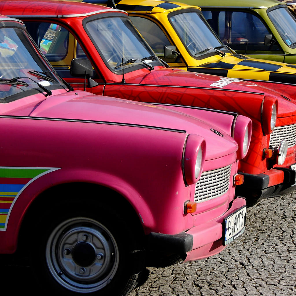 A safari in a Trabant