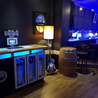La Maison Bleue, the connected beer bar