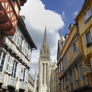 The charms of old Quimper