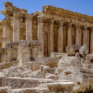 Meet the Roman gods at the ruins of Baalbek
