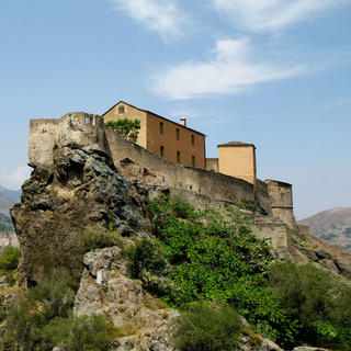 Corte, the perched village of Corsica