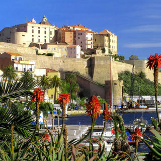 Calvi Citadel, the majestic beauty of an icon
