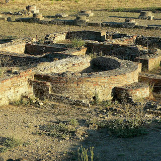 Back to the past at the archaeological site of Aléria