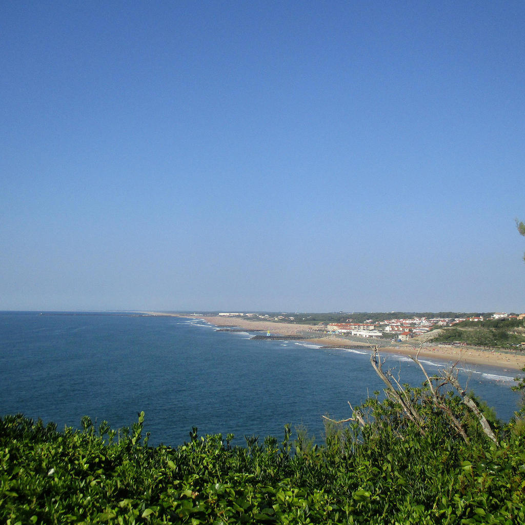The beaches of Anglet
