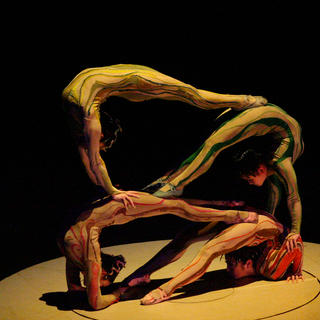 Acrobatics at the Chaoyang Theater