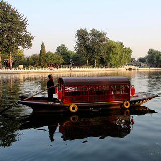 Lake Shichahai, symbol of Old Beijing