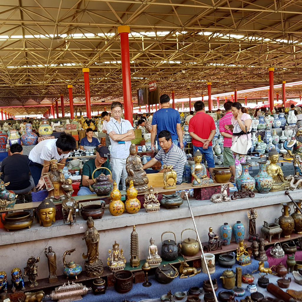 Panjiayuan Market: a flea market on a Chinese scale
