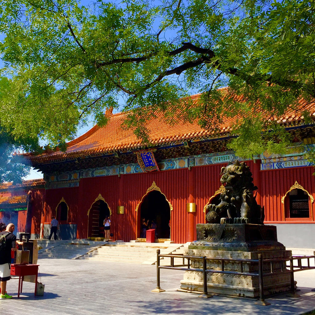 Lama Temple: a Buddhist haven