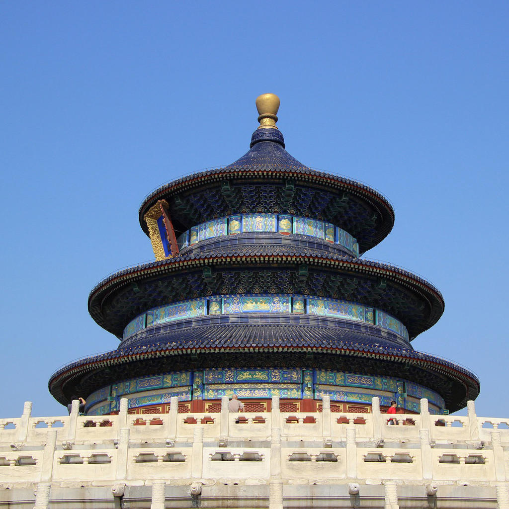 Temple of Heaven: a bridge between earth and sky