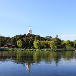 A walk in Beihai Park
