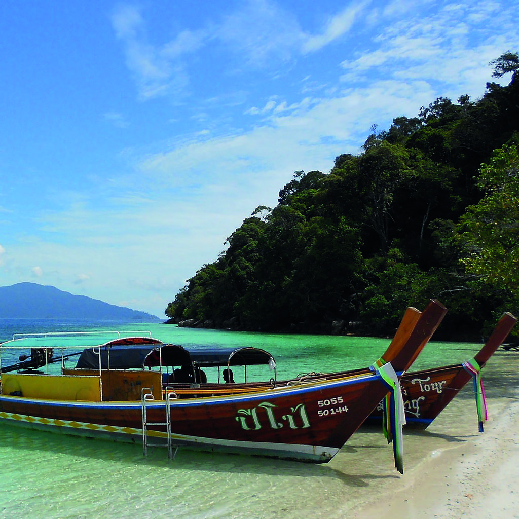 Discover the beaches and underwater riches of Thailand's islands