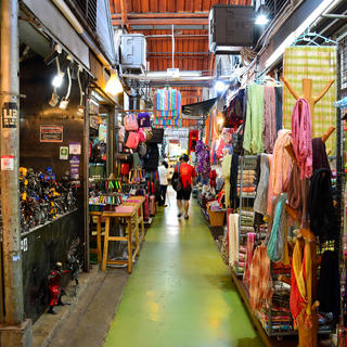 Stroll through Chatuchak, the country's largest bazaar
